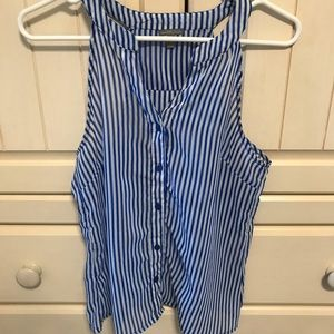 Charlotte Russe stripe Top